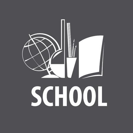 vector studies: vector logo accessories for studies in school Illustration