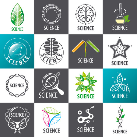science icons: large set of  Science Illustration