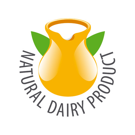 earthenware: jarra de barro con leche