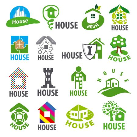homes: biggest collection of vector   homes Illustration