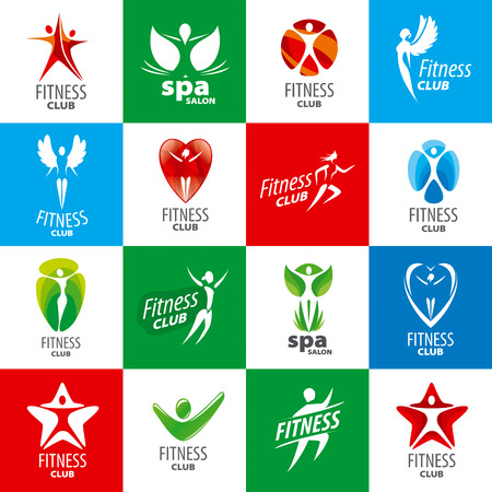 health and fitness: biggest collection of vector for fitness clubs