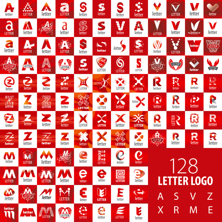 s and m: large set of vector letters
