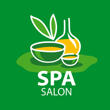 spa salon: vector logo attributes for spa salon Illustration