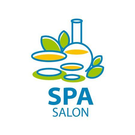 salon and spa: Abstract vector logo for Spa salon Illustration