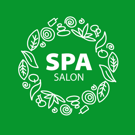product icon: Round vector for Spa salon