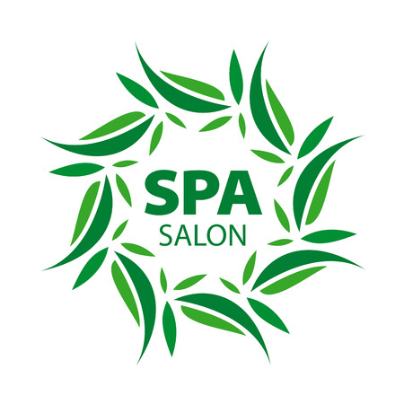 floral ornaments: vector with floral ornaments for the spa