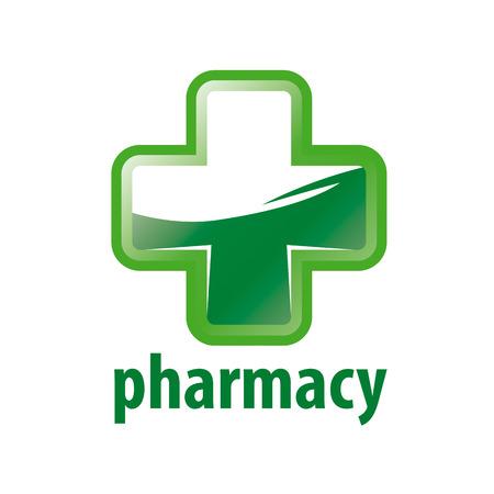 green cross: vector logo Green Cross Pharmacy