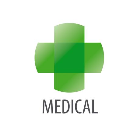 green cross: Abstract vector logo Green Cross health