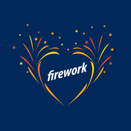 salutes: Abstract celebratory vector for salutes and fireworks