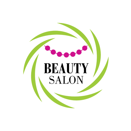 spa salon: flowers design for spa, boutique, beauty salon, cosmetician Illustration