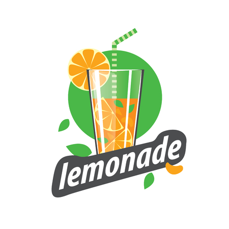 glassful: Bottle of juice icon. Flat icon with long shadow. Vector illustration