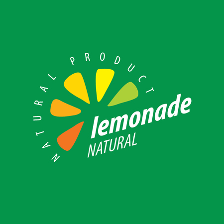 tropical drink: Vector icon for drinks and lemonades citrus Illustration