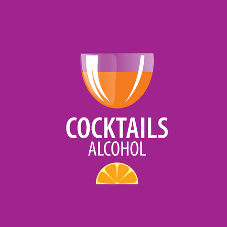 glassful: vector icons of alcoholic drinks by the glass