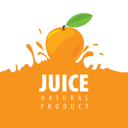 fresh food: vector icon fresh juice from natural products Illustration