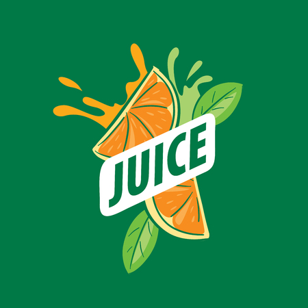 pictured: vector icon fresh juice from natural products Illustration