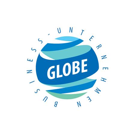 erde: Vorlage Vektor abstrakte Erde Logo. Globe Zeichen