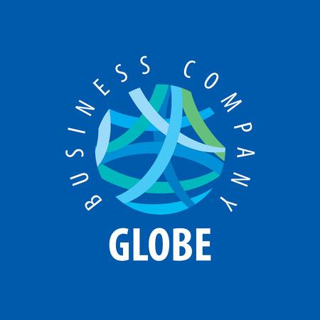 Template vector abstract Earth logo. Globe sign Logo