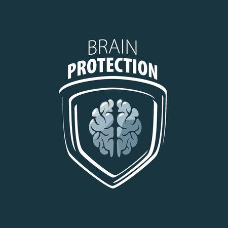 brain illustration: Illustration of the brain.