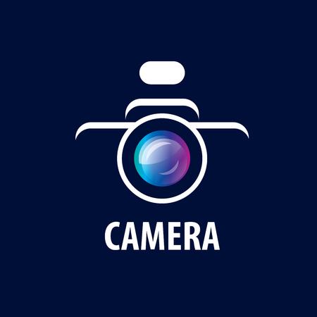 Vector logo template for a photographer or studio 일러스트