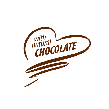 Template logo chocolate and sweets. Vector illustration 版權商用圖片 - 54893982