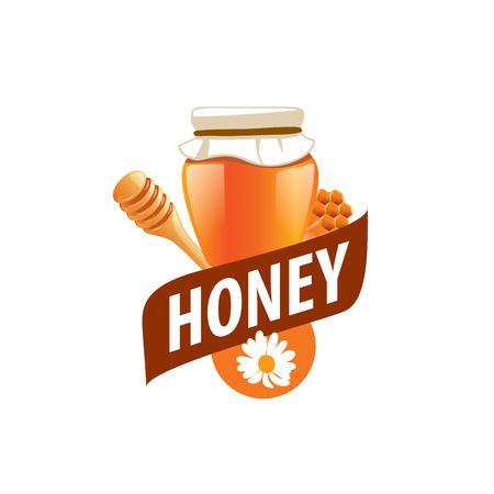 nectars: Honey emblem template. Vector illustration. Design element