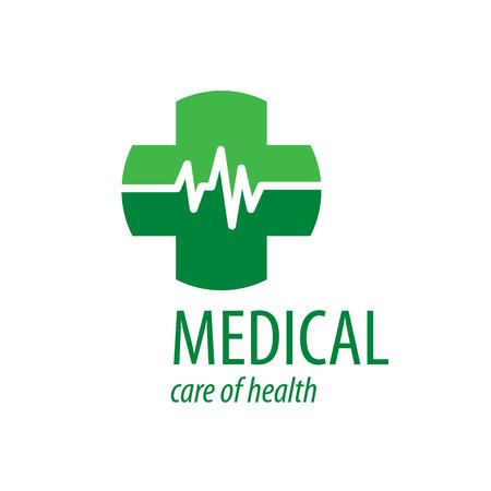 Cross logo for medicine and pharmacy. Vector illustration