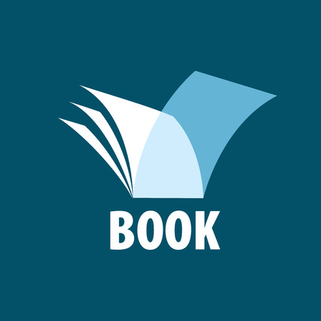 Abstract logo of books and knowledge. Illustration, vector template 版權商用圖片 - 56414401