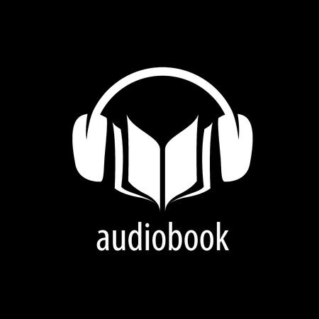 Abstract pattern audiobooks. Illustration vector icon 矢量图像