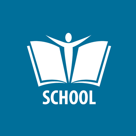 books and school. Illustration, vector template