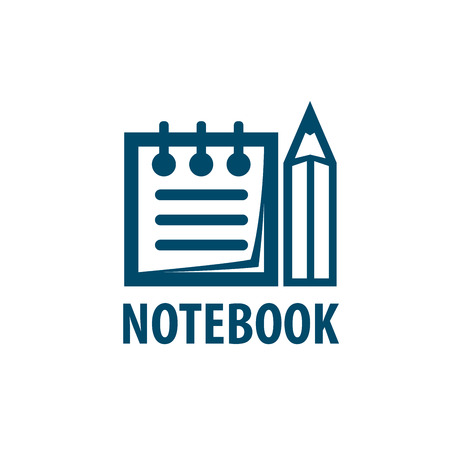 note booklet: notebook. Illustration notepad