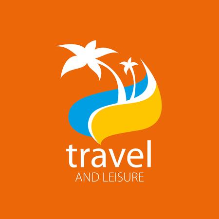 voyage: logo modèle pour Voyage et loisirs. Vector illustration