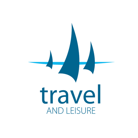 Template Vector Yacht logo. Illustration for travel and leisure Stock Vector - 57889322