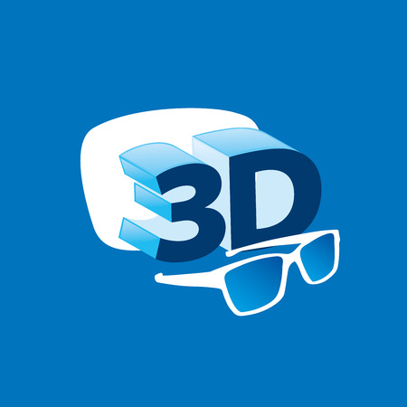 3d  design template. Vector illustration of icon