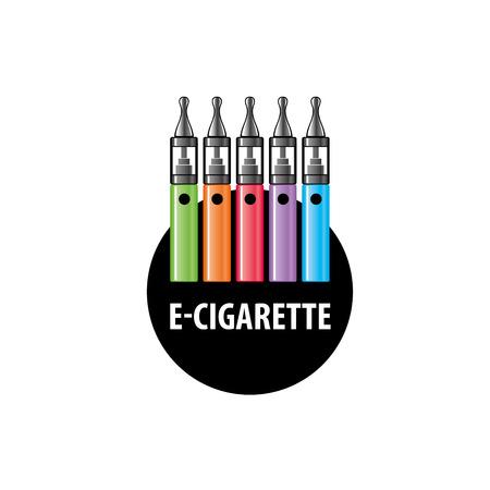 cig: design pattern of the electronic cigarette. Vector illustration