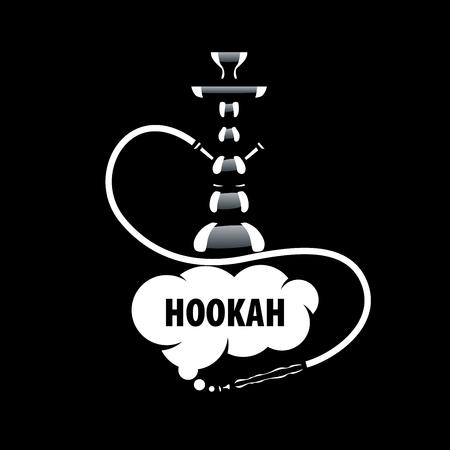 flavor: design template hookah. Vector illustration of icon