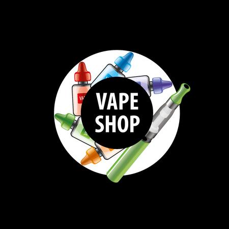 electronic cigarette: electronic cigarette. Vector illustration
