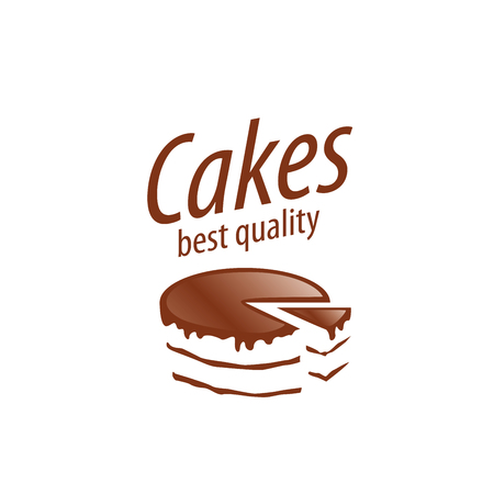 cake design template vector illustration of icon royalty free
