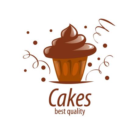 modello di progettazione Cake. Illustrazione vettoriale di icona