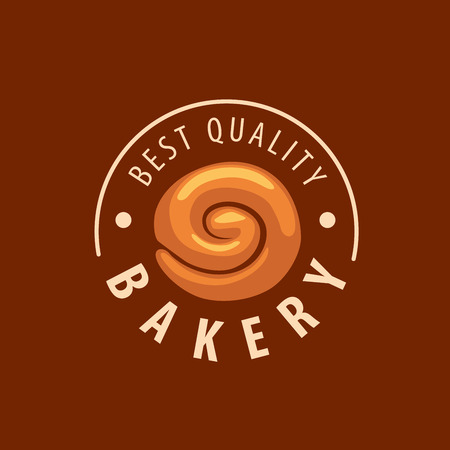 loaf: design template bread. Vector illustration of icon