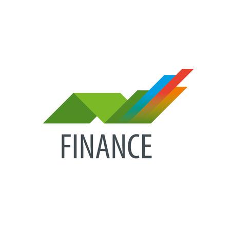 Finanz-Logo-Design-Vorlage. Vektor-Illustration der Ikone Standard-Bild - 61574355
