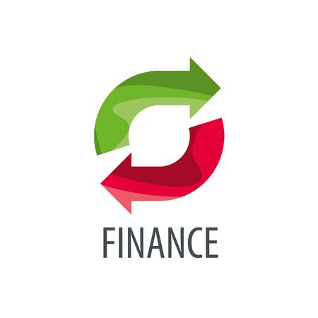 Finance logo design template. Vector illustration of icon