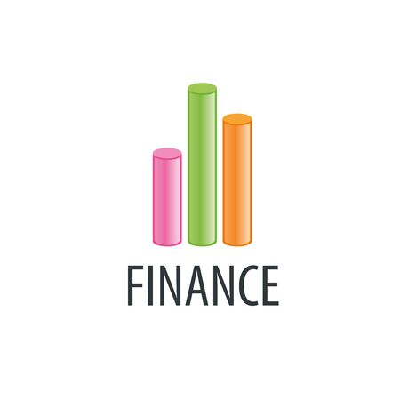 stock market quote: Finance   design template. Vector illustration of icon Illustration