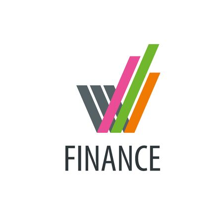 Finance design template. Vector illustration of icon