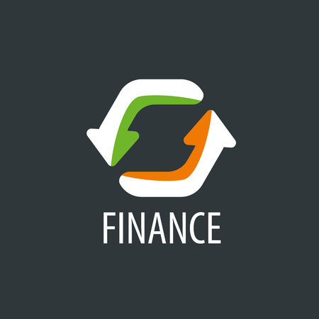Finance logo design template. Vector illustration of icon