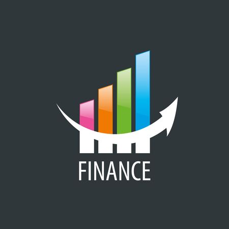 accounting logo: Finance logo design template. Vector illustration of icon