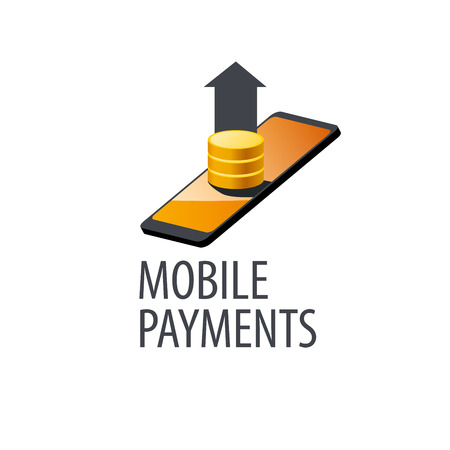 mobile payment  design template. Vector illustration
