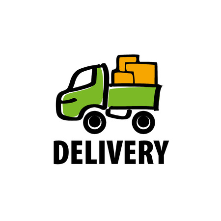 design pattern of delivery of goods. illustration