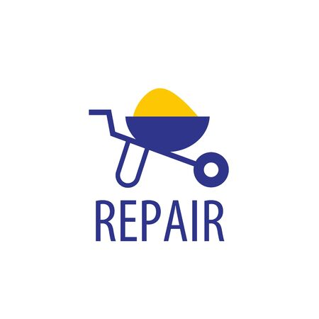 Home Improvement Logo: Logo Design Template For Repair. Vector Illustration  Of Icon Illustration