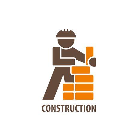 logo design template for repair. Vector illustration of icon Illustration