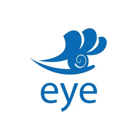 logo design template eye. Vector illustration of icon Illustration